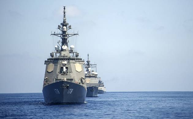 India, US, Japan to participate in trilateral maritime exercise in Bay of Bengal (Source: PTI)