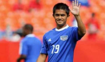 Indian footballer Sunil Chhetri's strike rate better than Ronaldo, Messi; goes past Rooney with 54 goals