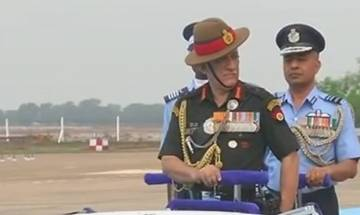 Telangana: Army Chief General Bipin Rawat inspects guard of honour at passing out parade of successful cadets