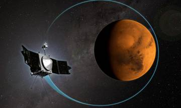 Understanding Mars climate: Sun stripped most of red planet's atmosphere to space, NASA's MAVEN spacecraft reveals how