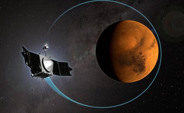 NASA MAVEN reveals how Sun stripped Mars' atmosphere