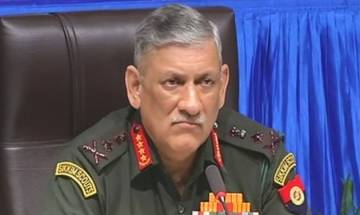 Parts of South Kashmir troublesome, necessary steps being taken to control situation, says Army chief