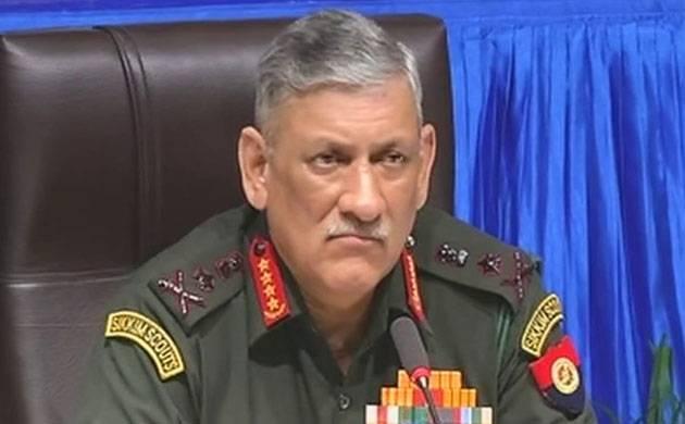 Army Chief General Bipin Rawat (Image: ANI)