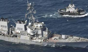 Bodies of missing sailors found on stricken Navy destroyer