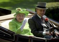 Queen Elizabeth II's husband Prince Phillip hospitalised