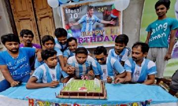Kolkata Fan Club celebrates 30th birthday of Argentina footballer Lionel Messi