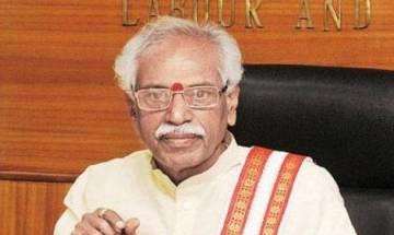 Why didn't Congress appoint Meira Kumar president when in power, asks Bandaru Dattatreya