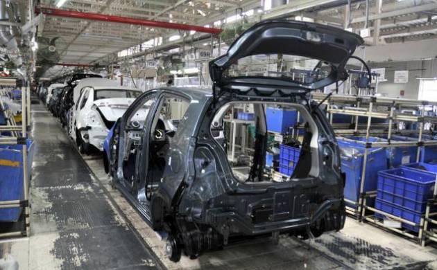 Maruti Suzuki India's mega car factory at Manesar (File Photo)