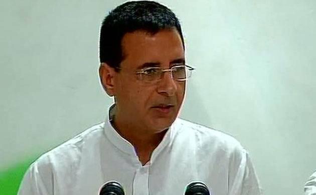 Randeep Surjewala (File photo)