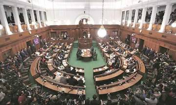 2 'AAP workers' create ruckus in Delhi Assembly, level graft charges against Jain; Speaker orders 1 month jail for them