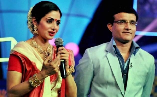 Sourav Ganguly's Bengali chat show 'Dadagiri': Sridevi to