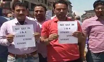 J&K traders strike against GST; Chidambaram says  tax reform will impact inflation