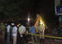 Delhi: Four-storey building collapses in Laxmi Nagar, residents escape unhurt