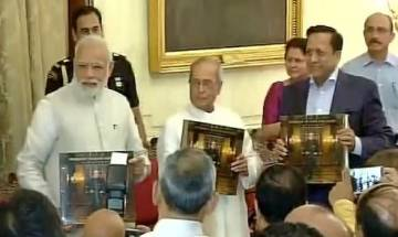 PM Modi praises Pranab Mukherjee, says he is fortunate that he got to work with Prez