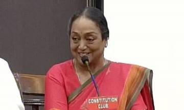 Presidential poll 2017: UPA nominee Meira Kumar urges lawmakers to vote with their 'conscience', says atmosphere of fear must end