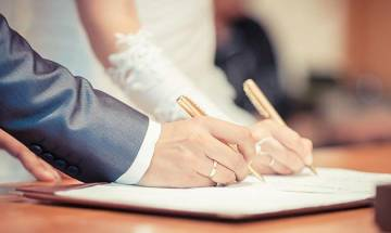 Law commission says marriage registration should be made compulsory to prevent frauds