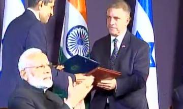 PM Modi-PM Netanyahu joint statement: India, Israel sign agreement in space sector, cleaning of River Ganga in UP