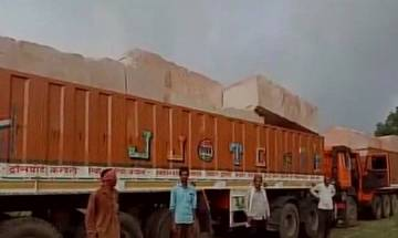Vishwa Hindu Parishad brings stones again for construction of Ram Temple in Ayodhya