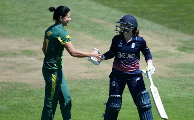 ICC Women's World Cup: England defeat South Africa by 68 runs in record run fest (Source: Cricket World Cup's Twitter)