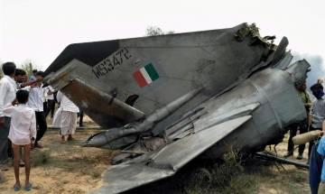 IAF MiG-23 trainer aircraft crashes near Jodhpur, 2 pilots eject safely