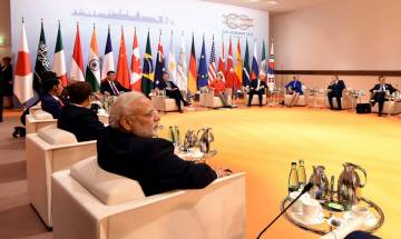 G20 Summit: GST, Skill India, Tech industry, Pak-based terror, Gulf Crisis, Sikkim standoff and other issues PM Modi raised on day 1