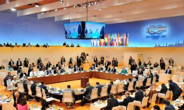 G20 Summit: PM addresses session 3 on partnership with Africa, Migration and Health; promotes Yoga, Swachh Bharat