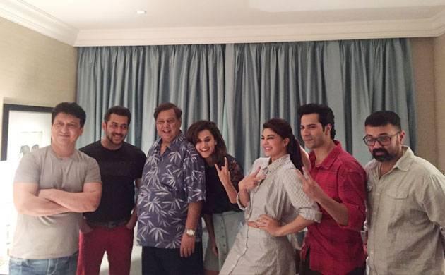 'Judwaa 2': Salman Khan begins shooting for Varun Dhawan starrer (see pics)