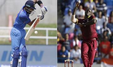 India vs West Indies T20: Evin Lewis's brutal ton powers Windies to 9 wicket win at Jamaica