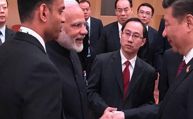 Sikkim standoff | No bilateral meeting took place between PM Modi, Jinping: China (Source: ANI)