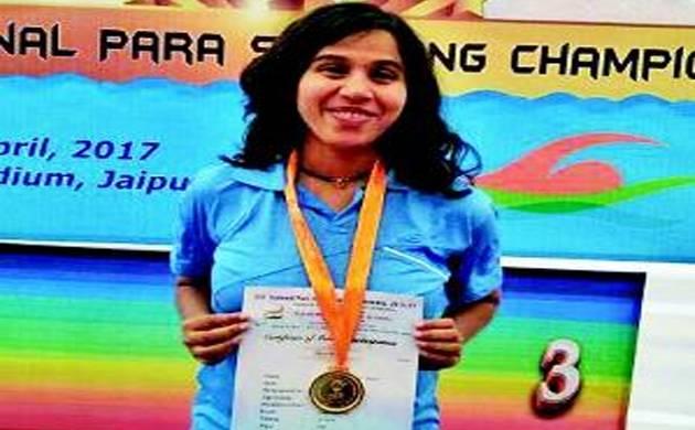 Para-athlete Kanchanmala Pande