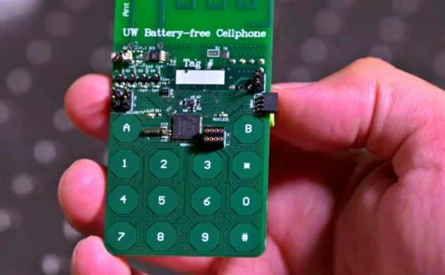 World's first battery-free cell phone developed,eliminating use of power-hungry devices