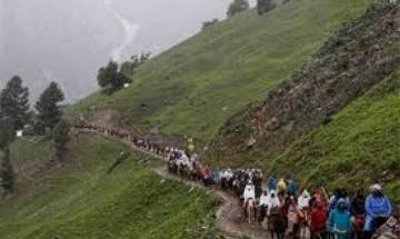 More than 9000 pilgrims pay visit to Amarnath shrine