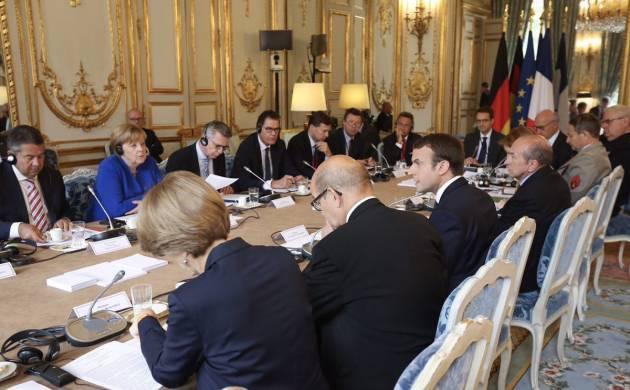 Merkel, Macron enter alliance to build fighter jets, Eurodrones and EU's own GPS system (Source: @EmmanuelMacron)