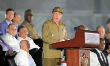 Cuban President Raul Castro denounces tougher US tone under Donald Trump