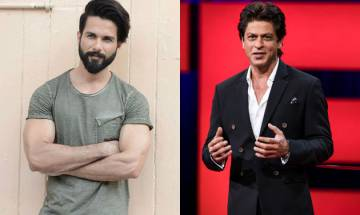 Shahid Kapoor opens up on his comparision with Shah Rukh Khan says, 'Comfortable with who I am today'