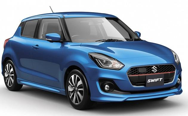 2017 Suzuki Swift Hybrid unveiled in Japan; available in two variants