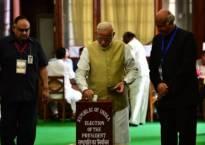 Live | Presidential election 2017: Voting underway across India; PM Narendra Modi casts his vote