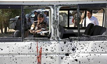 Pakistan: Suicide bomber hits vehicle carrying paramilitary forces in Peshawar; 2 dead