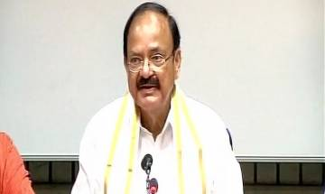 Vice-Presidential poll: NDA's candidate Venkaiah Naidu files nomination; says his party is his mother