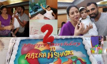 Mohammed Shami trolled on social media once again for posting picture of his daughter's birthday