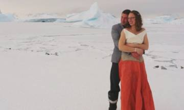 British Antarctic Territory witnesses first official wedding