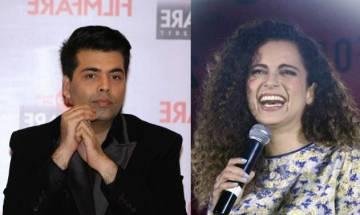 Karan Johar regrets his nepotism joke on Kangana Ranaut at IIFA Awards