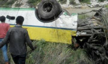 Himachal Pradesh: Bus falls into gorge in Shimla's Rampur; 28 dead, 9 injured