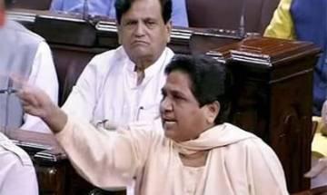 Indian Vice President accepts Mayawati's resignation from Rajya Sabha