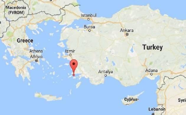 Strong earthquake of 6.7 magnitude jolts Greece, Turkey; 2 dead ...