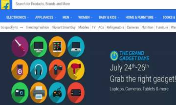 Flipkart 'Grand Gadget Day' sale: Exciting deals on Laptops, iPads, cameras and more