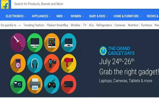 Flipkart 'Grand Gadget Day' sale: Laptops at Rs 10,999, exciting offers on iPads, cameras and more
