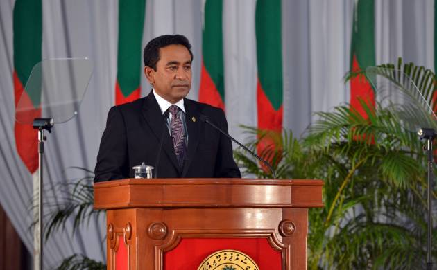 Opposition has accused President Yameen Abdul Gayoom of giving orders to military for the siege on Parliament