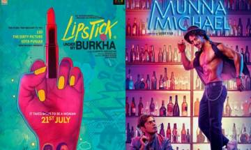 'Lipstick Under My Burkha' witnesses weekend growth at box office, 'Munna Michael' fails to fulfill hopes