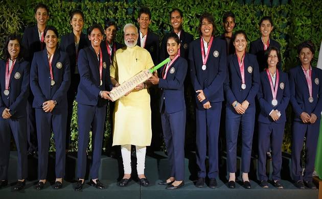 Modi hosts women's cricket team, says 'You made country proud'